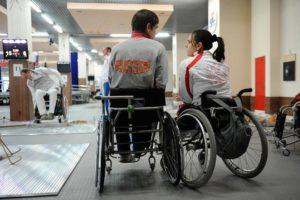Спортсмены инвалиды