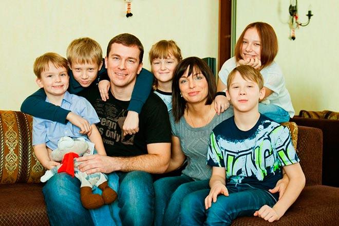 Семья с приемными детьми