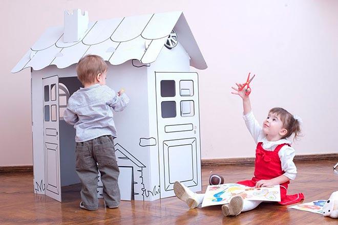 Бумажный домик