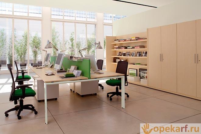 Рабочие места в офисе