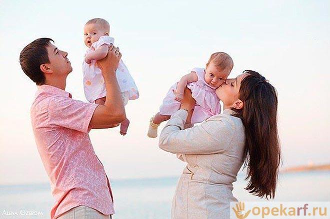 Родители с грудничками