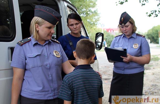 Представители полиции