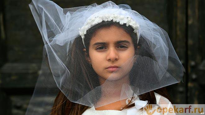 Свадьба подростка