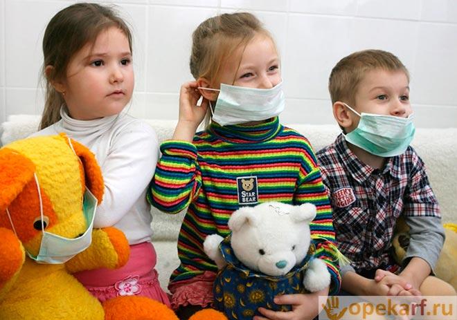 Детки на приеме у врача
