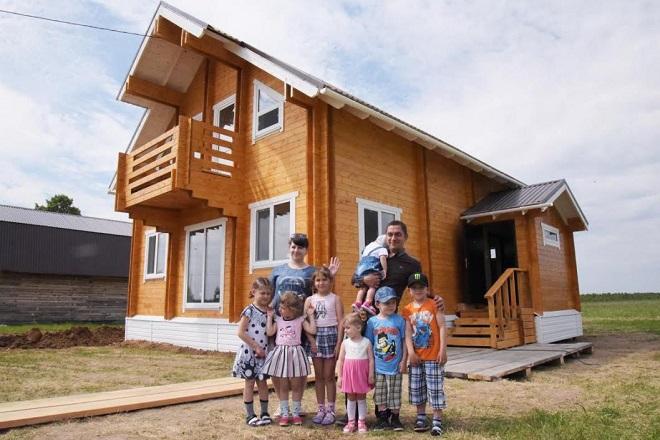 Дают ли землю семьям с тремя и более детьми в Москве