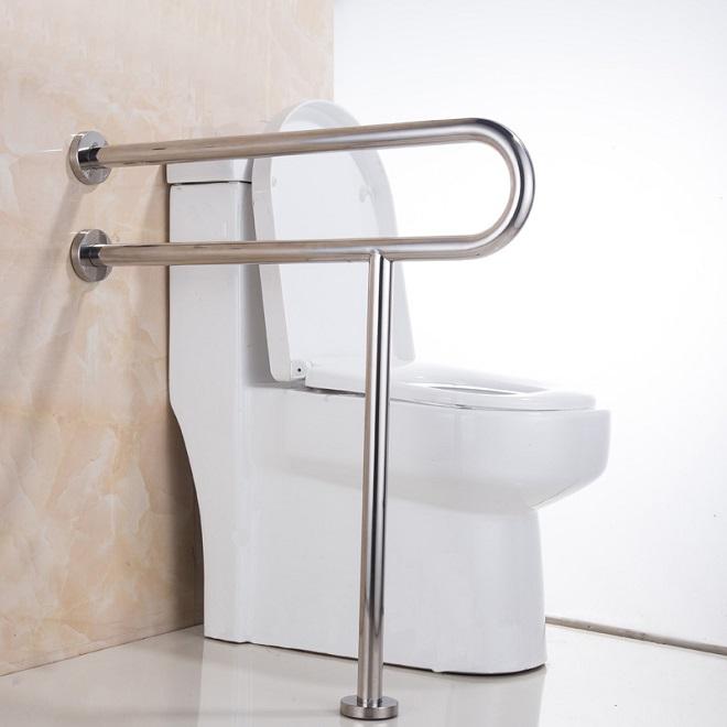Поручни инвалидам для ванной и туалета